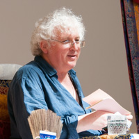 Lama Jampa teaching in Bristol