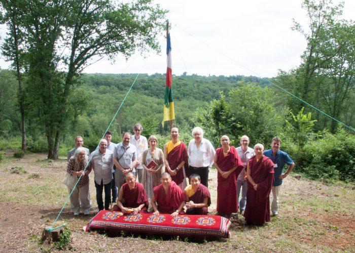 Visit of HH Ratna Vajra Rinpoche to Sakya Changlochen Ling