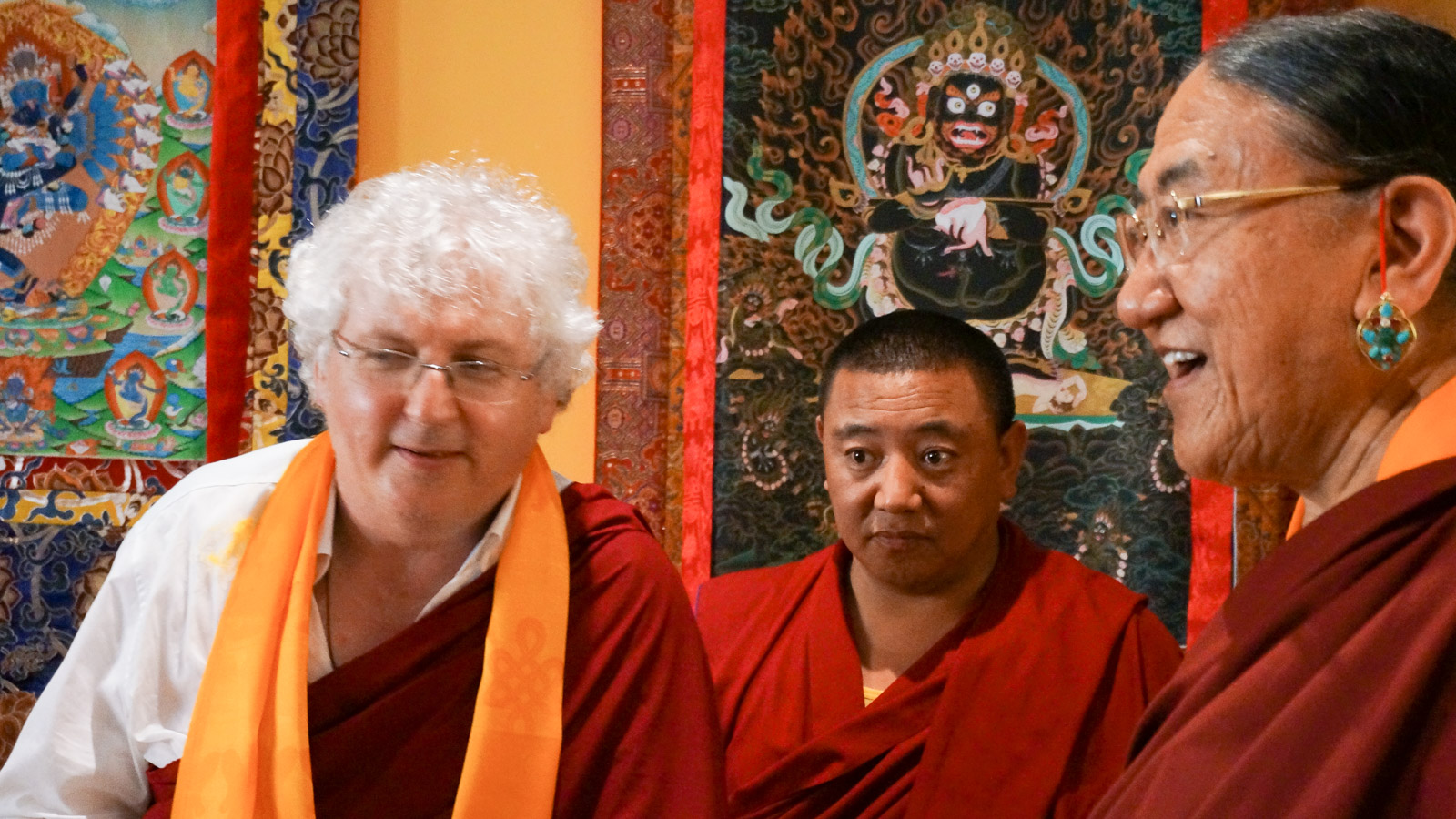Visit of HH Sakya Trizin to Changlochen – July 2014