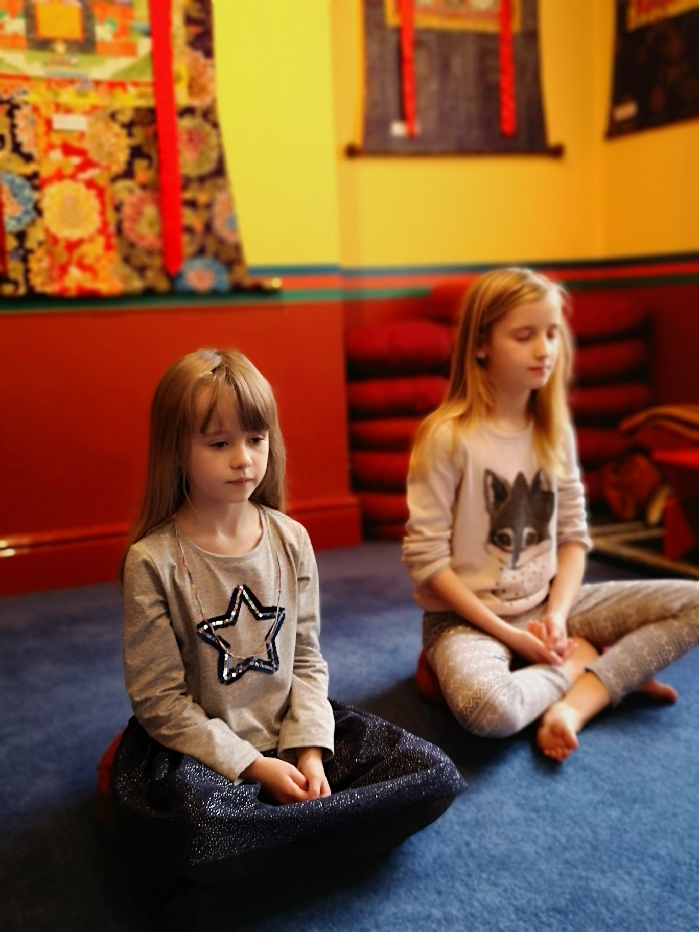 CANCELLED: Mini-meditators: tranquillity meditation and Buddhist stories for children aged 5-11